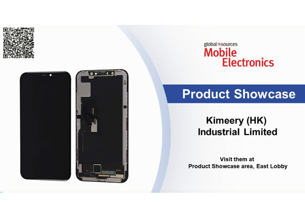 Kimeery(HK) Industrial Limited on-the-spot interview of the April Exhibition