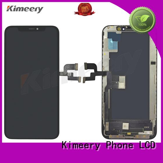 Kimeery replacement iphone x lcd replacement fast shipping for phone repair shop
