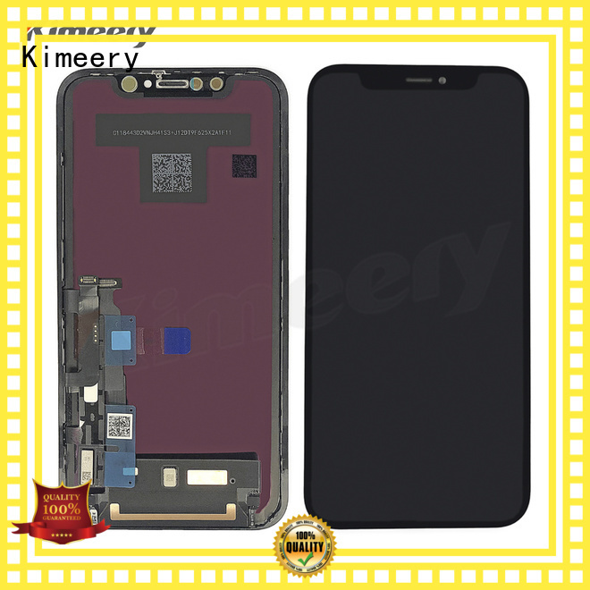 Kimeery quality iphone xr lcd screen replacement free design for phone repair shop