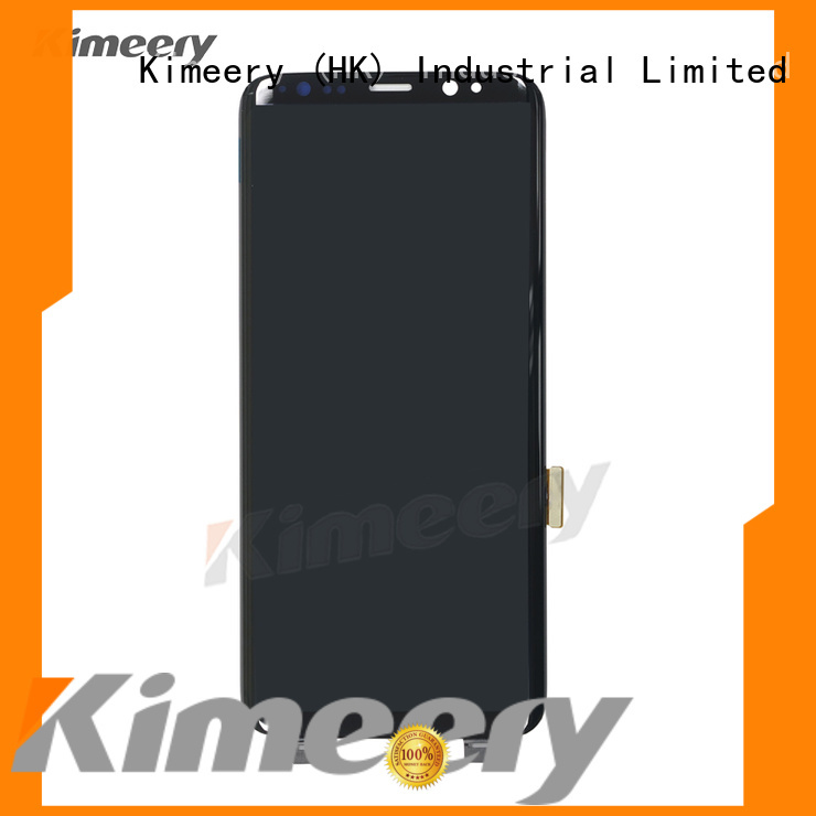 Kimeery lcd samsung s8 lcd replacement factory price for phone distributor