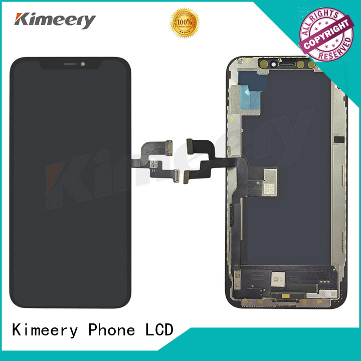 Kimeery oled iphone x lcd replacement wholesale for phone distributor